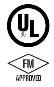 UL and FM approved Logo