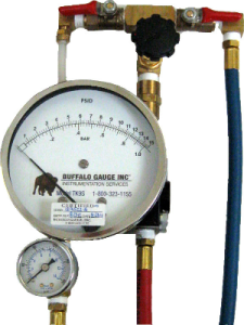 backflow test kit valve