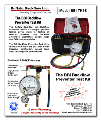 Download Buffalo Backflow Preventer Kit Distribution Flyer as PDF